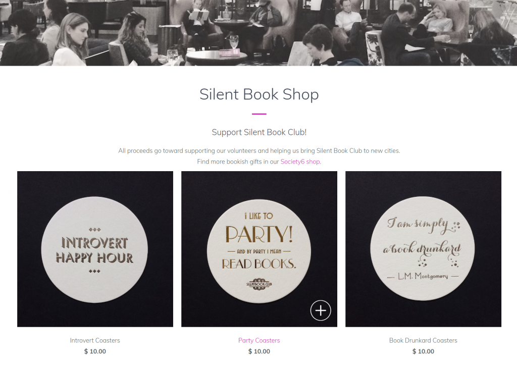 domain, .club, silent book club, tld
